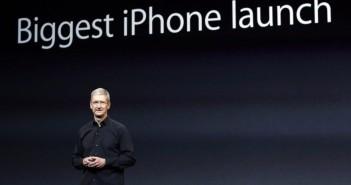 Tim Cock iphone 6 lancering 2014