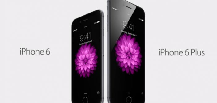 iphone 6 og iphone 6 plus billede