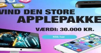 Apple konkurrencer - Vind præmier for 30.000 kr.